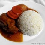 Guiso de pollo con arroz