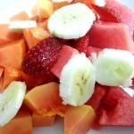 Ensalada de frutas para el desayuno