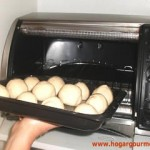 Pancitos entrando al horno