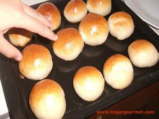Pan para el desayuno terminado